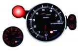 Přídavný budík Depo Racing 95mm - otáčkoměr se shift lightem - dieselové motory