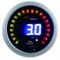 Přídavný budík Depo Racing Digital 2in1 - tlak turba elektronický + teplota oleje