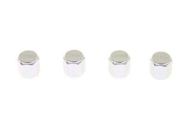 Ventilky na kola D1 Spec D1S035 - stříbrné 4 kusy