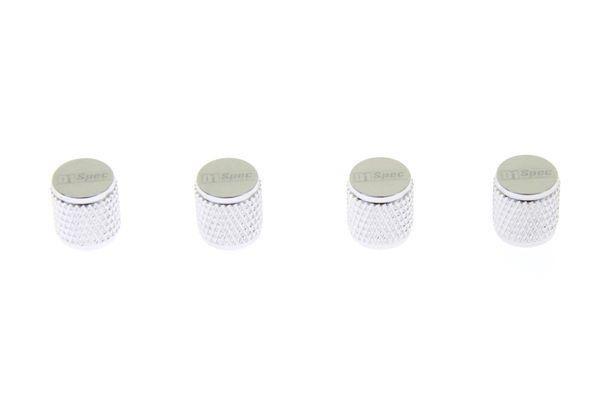 Ventilky na kola D1 Spec D1S038 - stříbrné 4 kusy