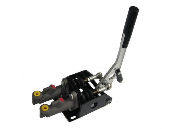Hydraulická ruční brzda HPP - vertikální (s dvojitým brzd. válcem a aretací)