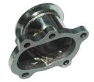 Adaptér na výfukovou část T25 5-děr. > V-band 76mm (nerez)