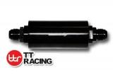 Benzínový filtr TT Racing univerzální D-08 (AN8) s držákem
