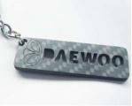 Karbonová klíčenka Daewoo