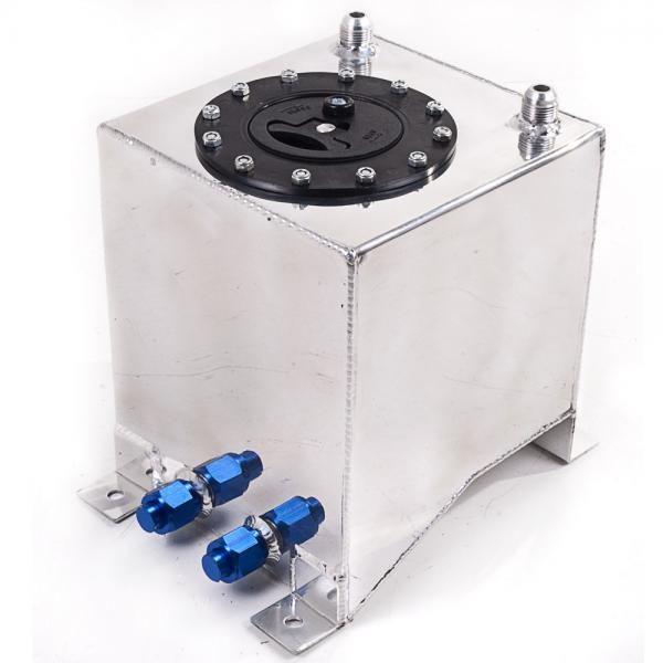 Závodní hliníková palivová nádrž 10l (racing fuel tank) se senzorem na ukazatel stavu paliva