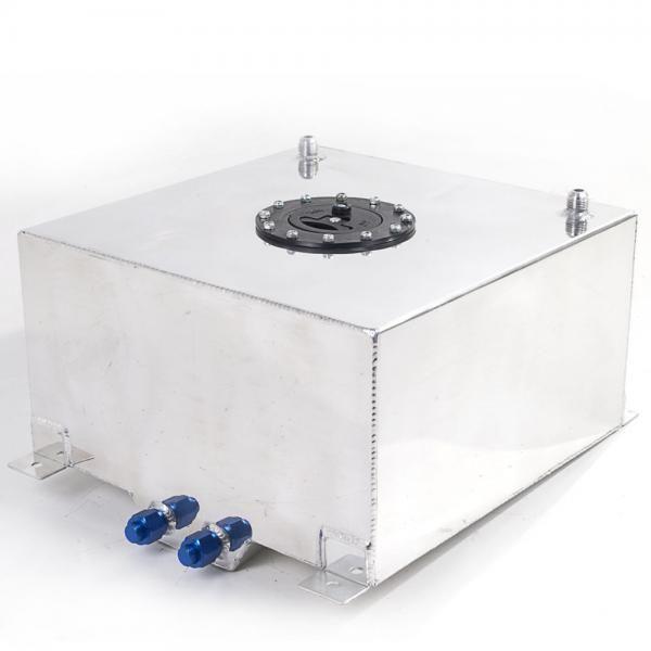 Závodní hliníková palivová nádrž 40l (racing fuel tank) se senzorem na ukazatel stavu paliva