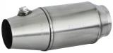 Závodní katalyzátor HJS 108 x 250mm - 70/80mm (FIA)
