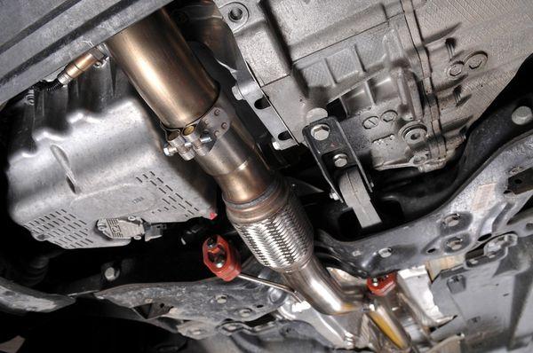 Milltek Sport Downpipe se sportovním katalyzátorem Milltek Škoda Fabia II 5J RS 1.4 TSI 180PS hatchback (07-14)