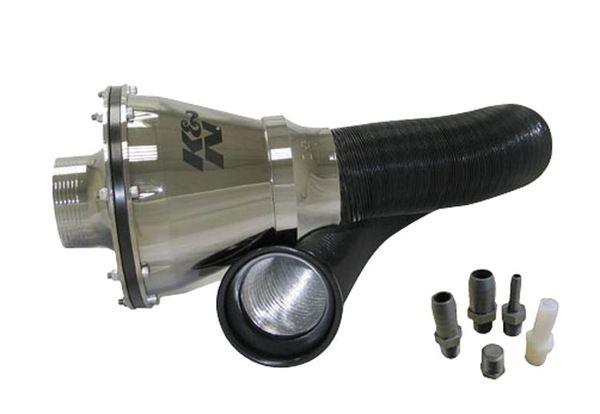 Univerzální uzavřený systém K&N Apollo - stříbrný