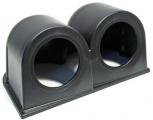 Držák na palubovku Depo Racing pro 2 přídavné budíky 52mm - černý
