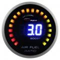 Přídavný budík Depo Racing Digital 2in1 - tlak turba elektronický + bohatost směsi (A/F ratio)