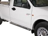 Nerez boční designové nášlapy Great Wall Wingle, Single Cab misutonida