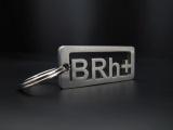 Přívěsek na klíče krevní skupina B RH + ALASER