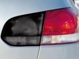 Folie na světlomety - černá-matná, 100x30cm Globmel