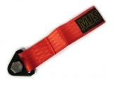 Přední odtahové oko textilní MJS - červené
