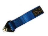 Přední odtahové oko textilní MJS - modré