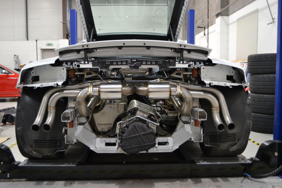 Catback výfuk Milltek Audi R8 V10 5.2 FSI Quattro Coupe/Spyder (09-12) - Supercup verze
