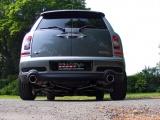 Catback výfuk Milltek Mini Cooper S Mk2 R55 Clubman 1.6T (07-14) - verze bez rezonátoru