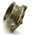 Adaptér na výfukovou část na turbo T25 > V-band 76mm