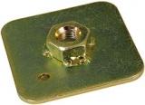 Montážní kotvící podložka pro bezpečnostní pásy (ocel)