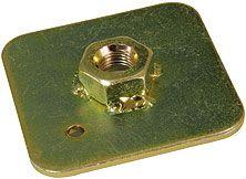 Montážní kotvící podložka pro bezpečnostní pásy (ocel) Sandtler