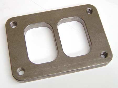 Turbo Parts Příruba na svody T6 dělená (ocel)
