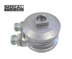 Relokační adaptér k ol. filtru Mocal s bočními vstupy 1/2 BSP