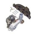 Výfukové svody VW, Audi, Seat, Škoda 1.8T - K03 / K03S / K04-001 (příčné motory) Turbo Parts