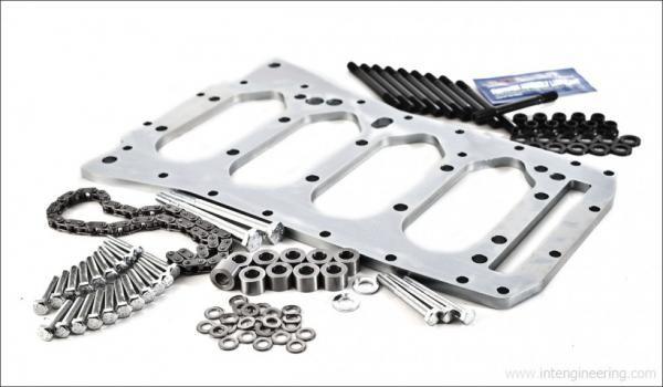 Integrated Engineering Výztužný plát uložení klikové hřídele Integrated Engeneering pro VAG 1.8T 06A