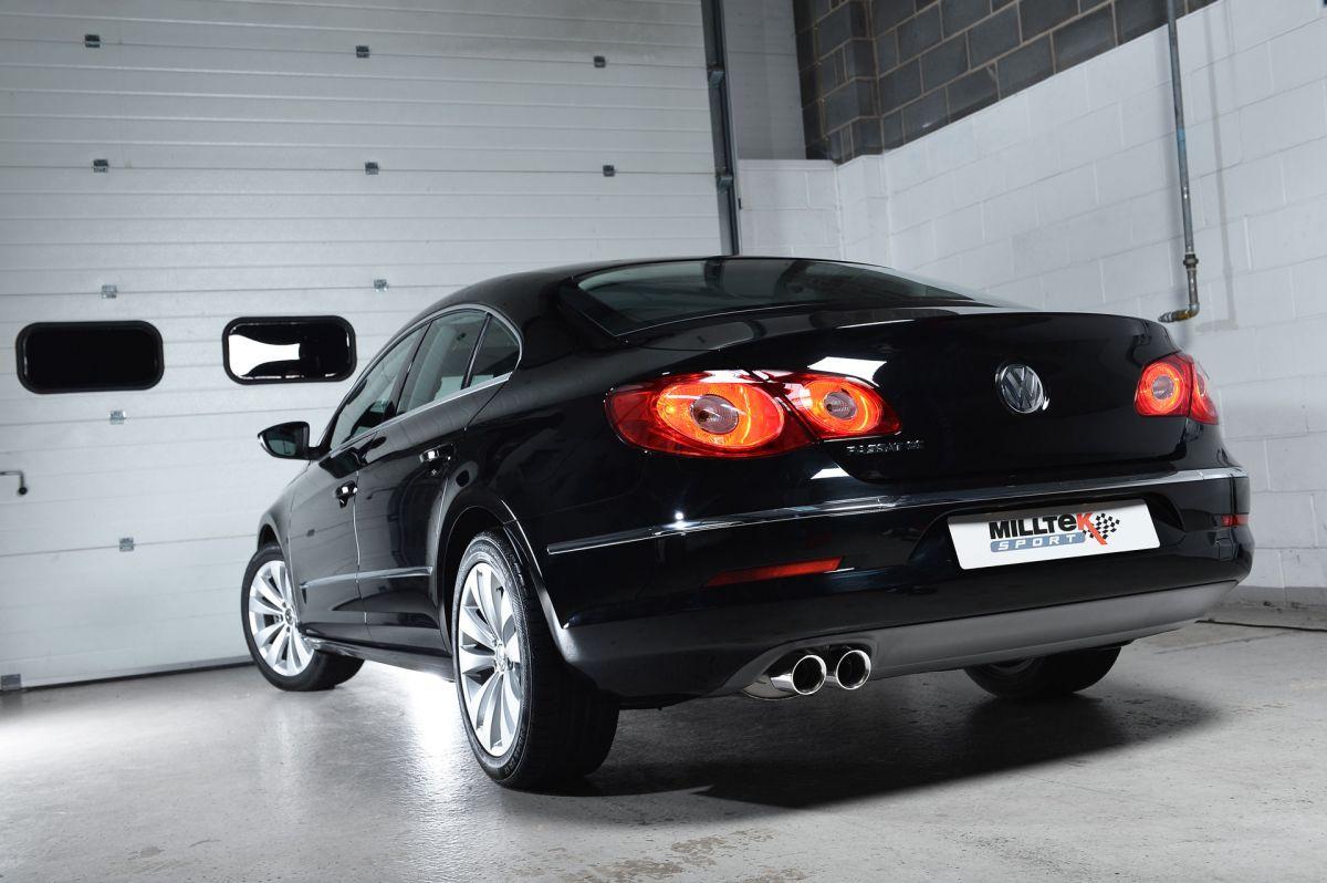 Milltek Sport Turboback výfuk Milltek VW Passat CC 1.8/2.0 TSI (08-12) - hlasitější verze