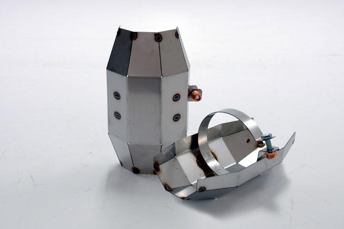Tepelný štít pro závodní katalyzátor Simons typ UK02...
