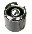 Sportovní filtr karbon univerzální 76mm - délka 155mm