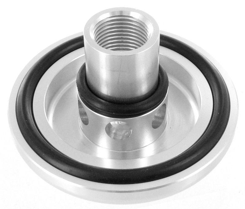 Záslepka pro adaptér na olejový filtr (take off plate) - závit M20 x 1.5