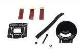 Držák univerzální Depo Racing pro 1 přídavný budík 52mm - černý