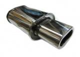 Koncový tlumič výfuku ProRacing MP11 - nerez - 63,5mm