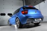 Catback výfuk Milltek BMW 1-Series F20 / F21 M 135i 3/5dv. (12-) - závodní verze - koncovky leštěné
