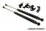 Karbonové vzpěry kapoty Circuit Sports Subaru Impreza GDF (06-07)