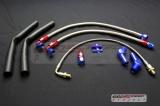 Kit hadic na vodu a olej pro turbodmychadla T25, T28, Garrett GT25, GT28