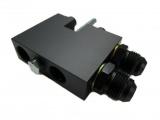 Adaptér pro montáž olejového chladiče na olejový výměník Sgear BMW E90 / E92 335i N54/N55 - D-10 (AN10)
