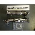 Downpipes s náhradami katalyzátorů Knight Racer Nissan GT-R R35 - 76-101-76mm