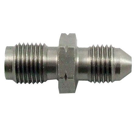 """Torques Propojovací adaptér rovný D-03 (AN3) 3/8""""x24-UNF - 1/8""""-BSP - samec - nerezový"""