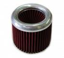 Sportovní filtr univerzální 60/65/70/76/90/100mm stříbrný