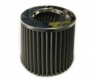 Sportovní filtr univerzální 76mm stříbrný (kovový)