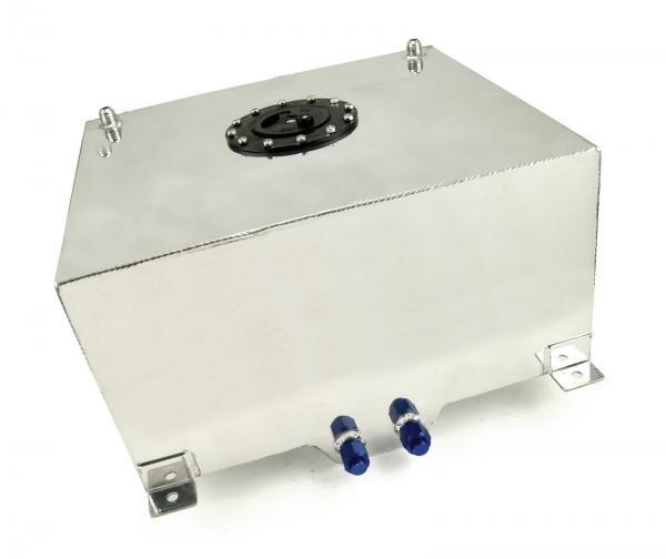 Závodní hliníková palivová nádrž 80l (racing fuel tank) se senzorem na ukazatel stavu paliva
