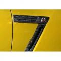 Karbonové držáky znaků na blatnících Knight Racer Nissan GT-R R35 (08-13)