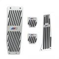 Pedály ProRacing pro BMW E30 / E32 / E34 / E36 / E38 / E39 / E46 / E60 / E61 / E87 / E90 / E91 / E92 / E93 / X1 s logem M technik - manuální převodovka