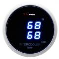 Přídavný budík Depo Racing Digital Blue LED - duální teplota nasávaného vzduchu (IAT)
