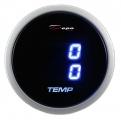 Přídavný budík Depo Racing Digital Blue LED - duální teplota vody / oleje