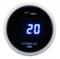 Přídavný budík Depo Racing Digital Blue LED - teplota nasávaného vzduchu (IAT)