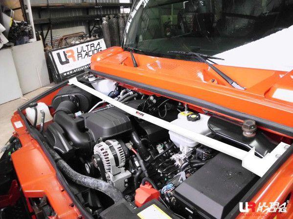 Rozpěrná tyč Ultra Racing Hummer H2 6.0 (03-09) - přední horní
